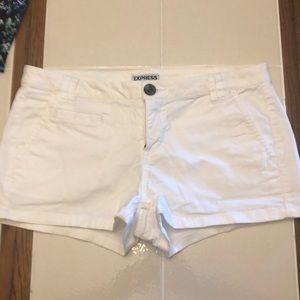 White shorts